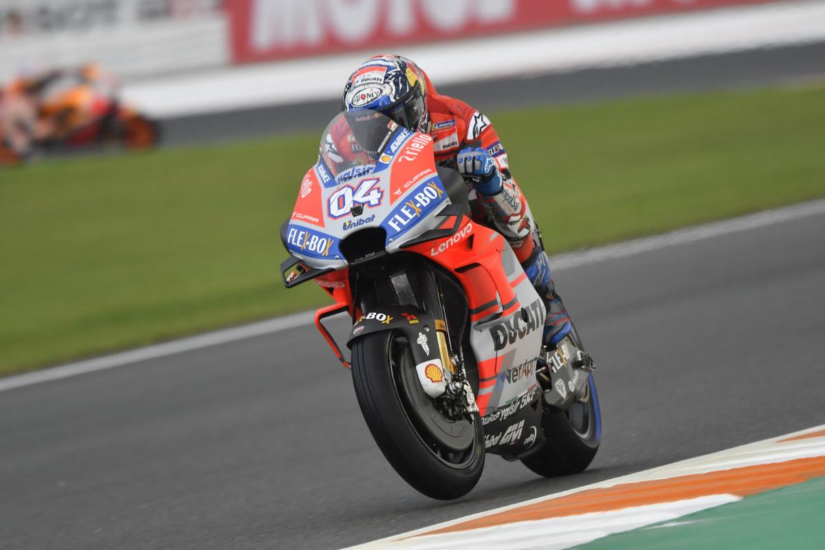 MotoGP: l'impegno degli impianti frenanti a Valencia