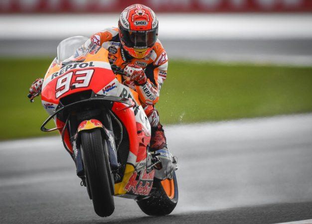 Valencia: Marquez si aggiudica il venerdì. Rossi 12°
