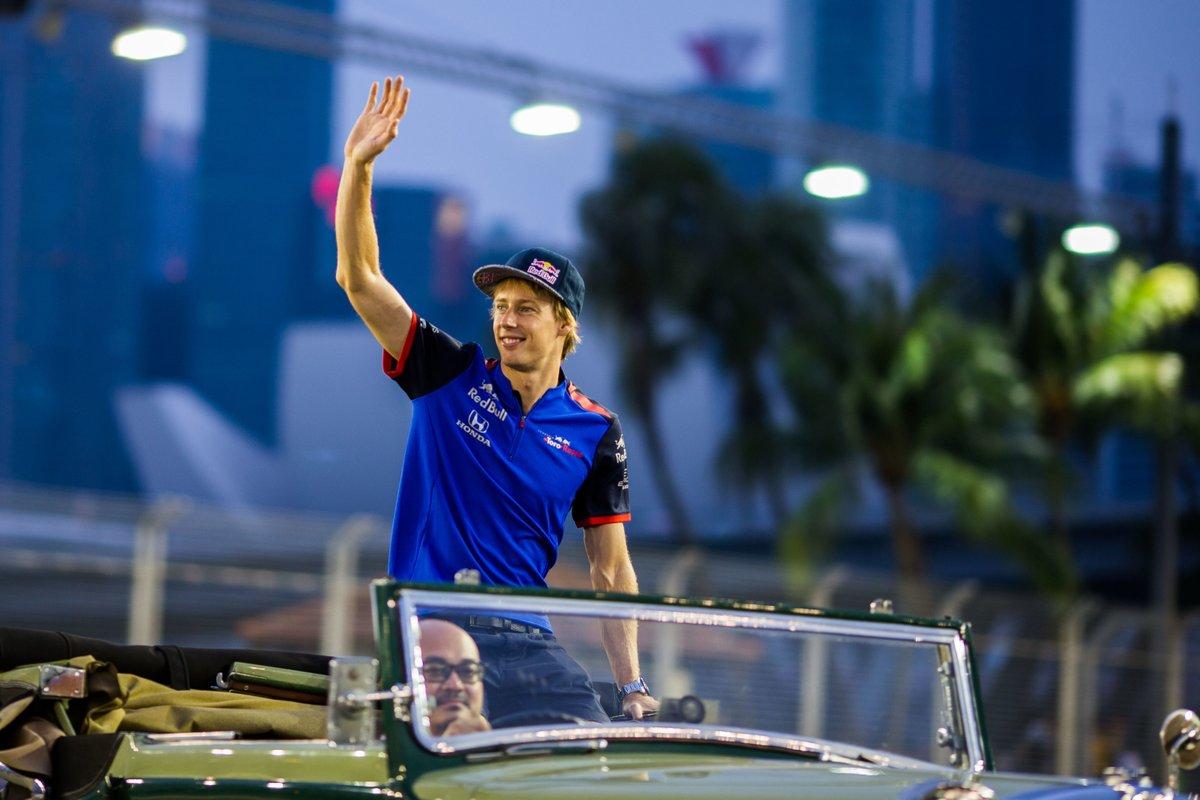 La Toro Rosso ringrazia Brendon Hartley: un bel gesto
