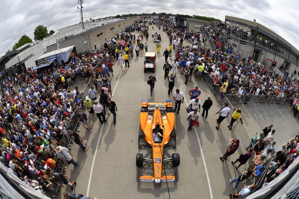 Motori Chevrolet per McLaren alla Indy 500 2019