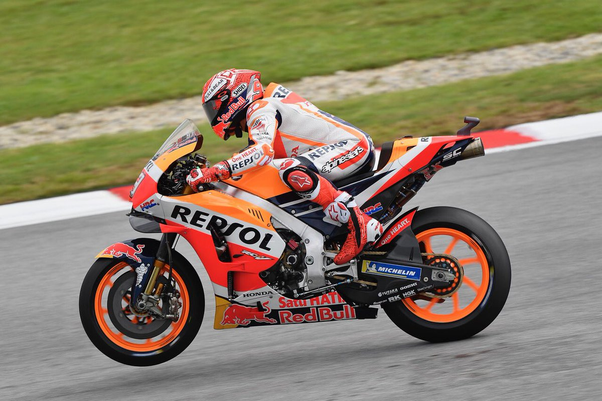 Malesia: pole di Marquez davanti a Zarco e Rossi