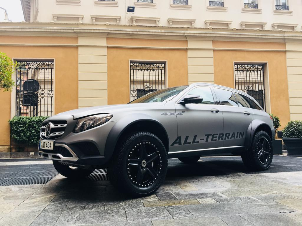 Mercedes-Benz Classe E All-Terrain 4×4 al quadrato