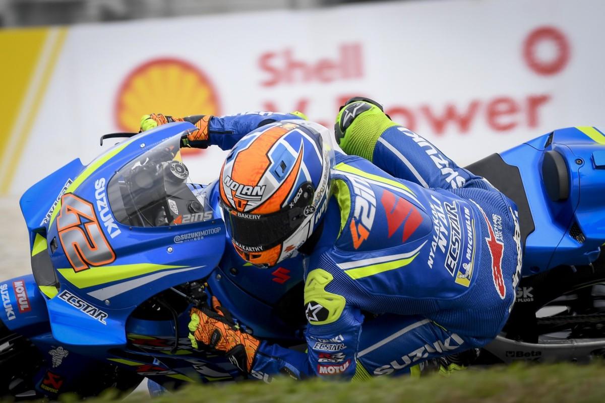 Malesia: il venerdì a Rins. Dovizioso e Rossi 2° e 4°