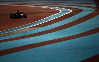 Abu Dhabi: via ai test pneumatici 2019