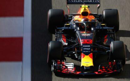 Abu Dhabi: Red Bull davanti; Ferrari 7° e 8°