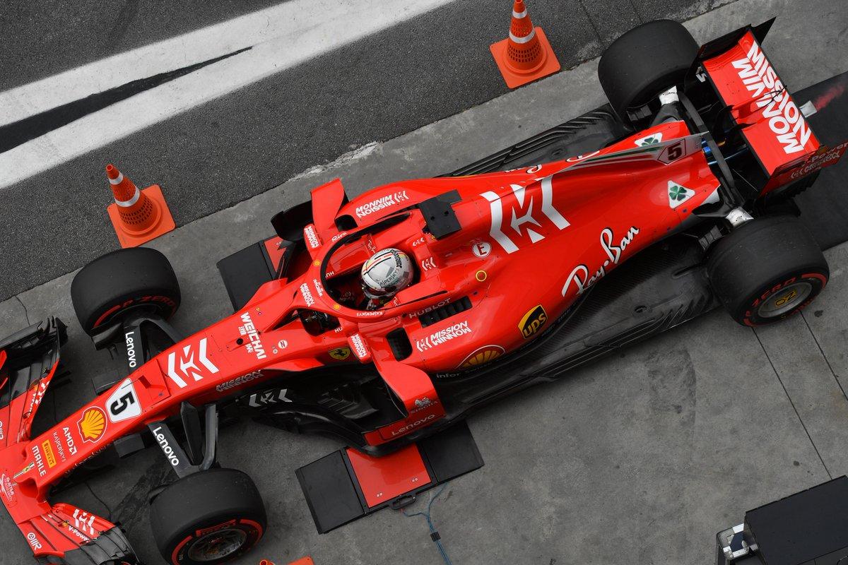 Vettel: una reprimenda e 25.000 euro di multa