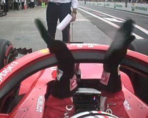 Il peso è uguale per tutti. Anche per Vettel