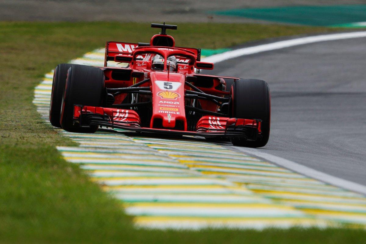 Brasile: Vettel davanti a Hamilton nelle FP3