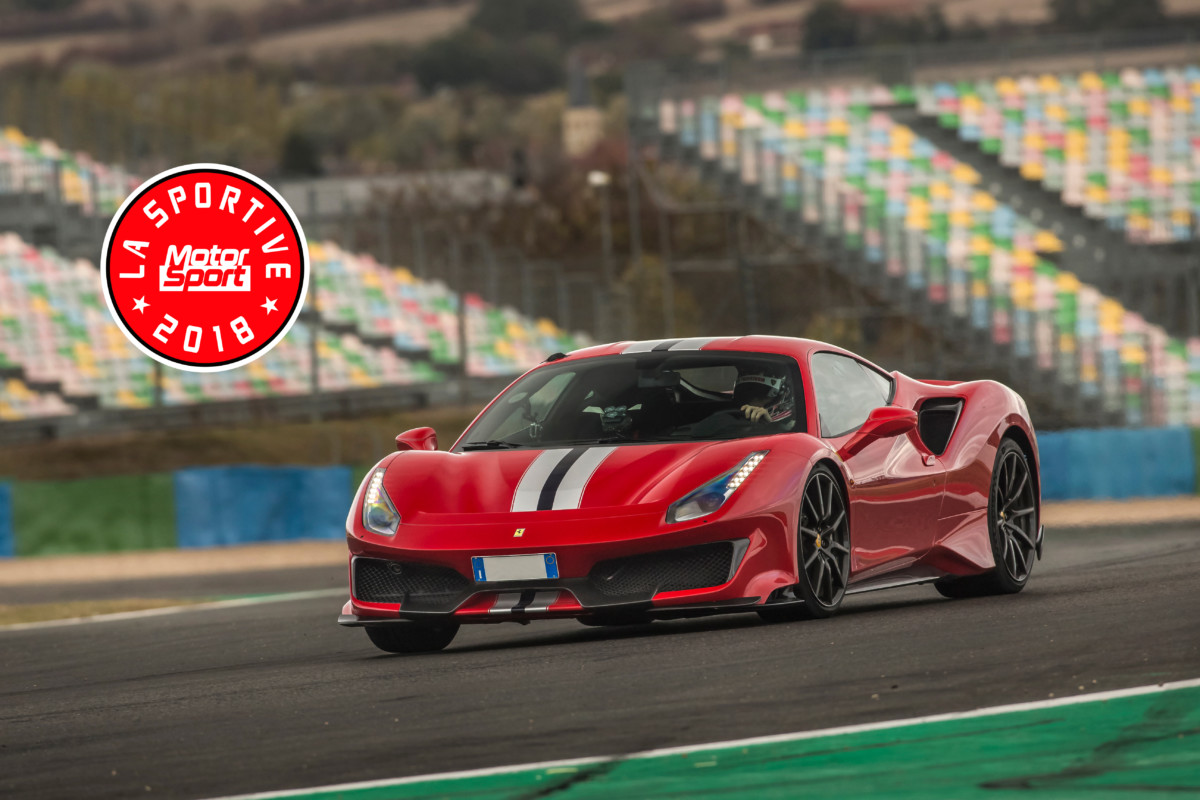 Ennesimo premio per la Ferrari 488 Pista