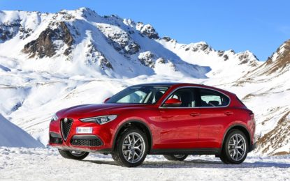 Alfa Romeo Winter Tour con Giulia e Stelvio