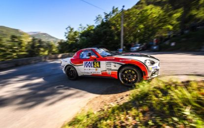 Abarth 124 rally protagonista nell'ERC 2019