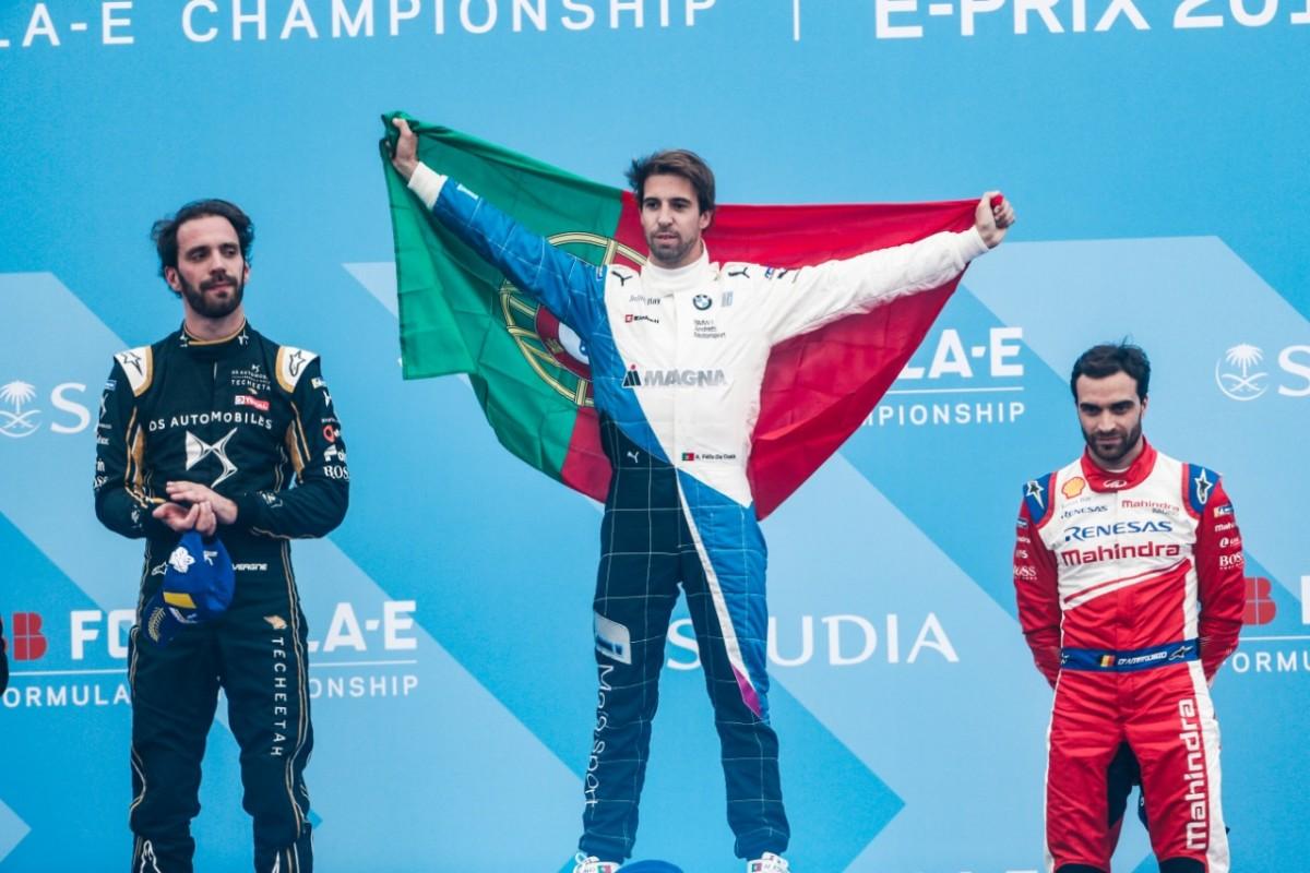 Formula E: Felix da Costa vince con BMW ad Ad Diriyah