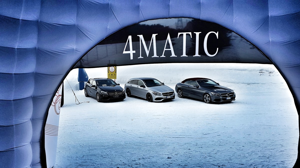 Al via la nuova stagione del 4MATIC Tour