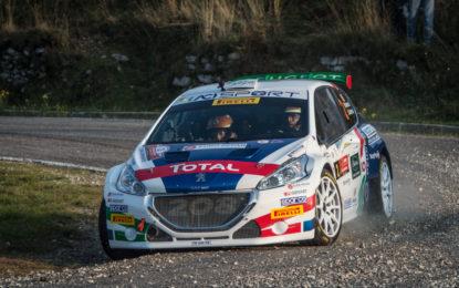 Peugeot e Andreucci protagonisti al Monza Rally Show