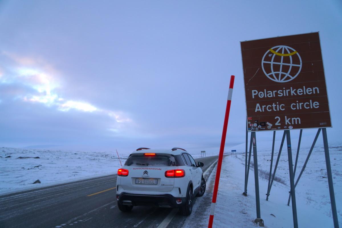 #whitecruiseadventure: Circolo Polare Artico raggiunto!
