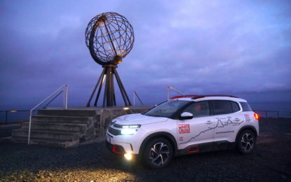 White Cruise: C5 Aircross 71° N Limited Edition a Capo Nord