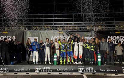 Al Monza Rally Show vincono Rossi, Cairoli e il pubblico