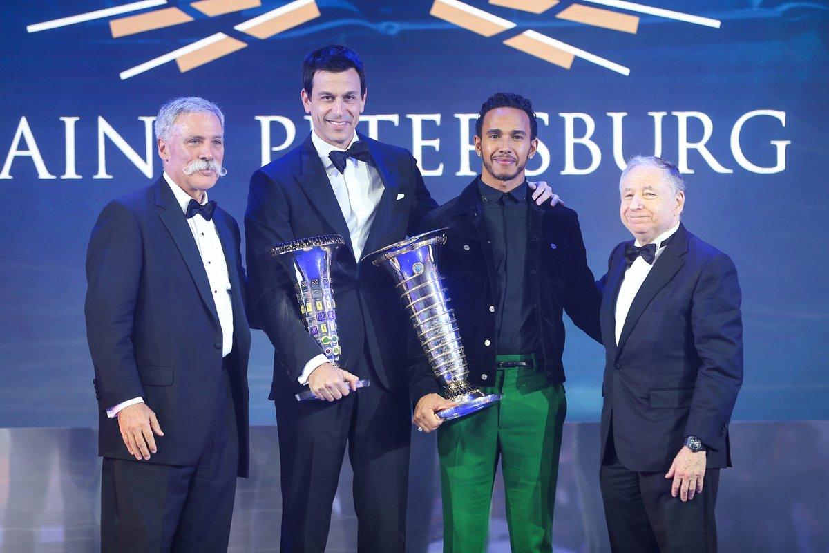La festa FIA per i campioni 2018. Unica nota stonata Raikkonen