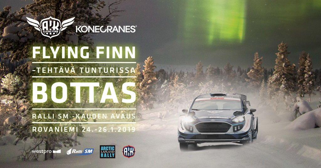 Bottas: debutto nel WRC con Ford Fiesta M-Sport