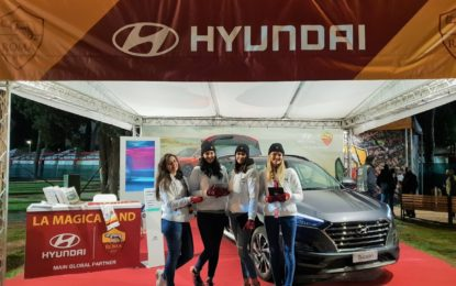 Hyundai in campo con i tifosi dell'AS Roma