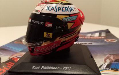 Da Centauria il casco 2017 di Kimi Raikkonen