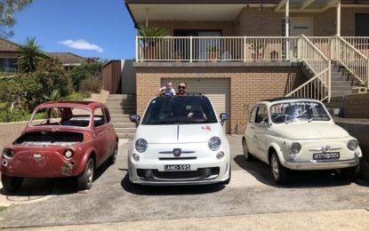 Tre generazioni in 500