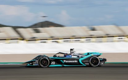 Formula E: Panasonic Jaguar Racing pronta per la nuova stagione