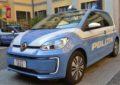 Una Volkswagen e-up! alla Polizia di Milano