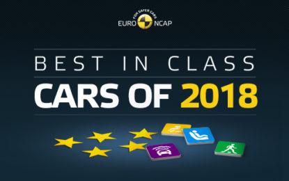 Euro NCAP: tutte a 5 stelle le Best in Class 2018