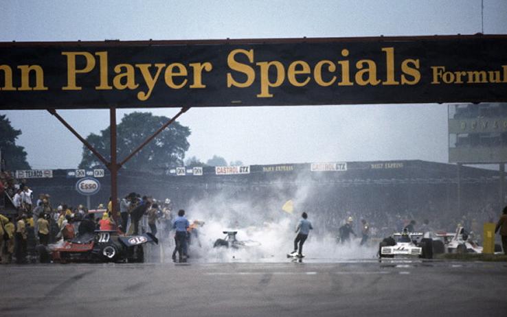 Scheckter, Silverstone 1973, la McLaren M23 e il Concorde
