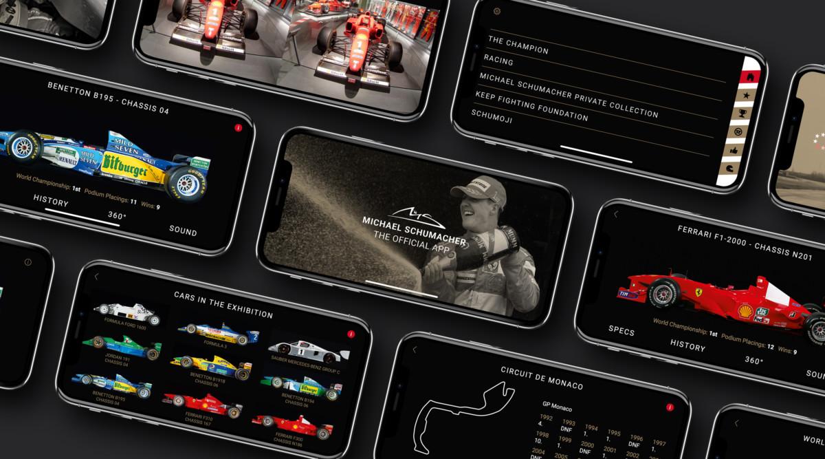 Schumacher: il 3 gennaio la App Ufficiale negli App Stores