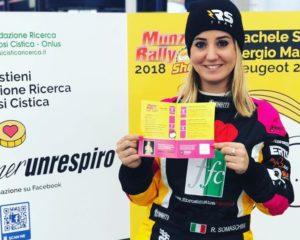 Rachele Somaschini vi aspetta al Monza Rally Show