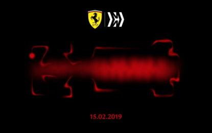 Acceso il motore della Ferrari F1 2019
