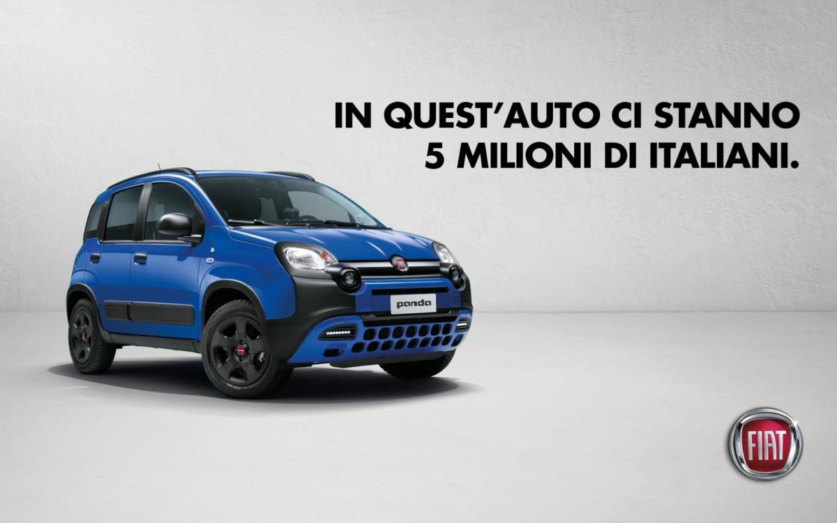 """Fiat festeggia i 5 milioni di clienti con """"Popolo di Panda"""""""