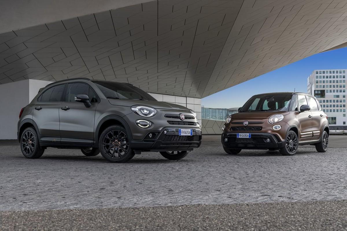Nuove serie speciali Fiat 500X e 500L S-Design
