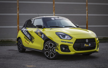 ACI Rally Italia Talent viaggia su Suzuki Swift Sport