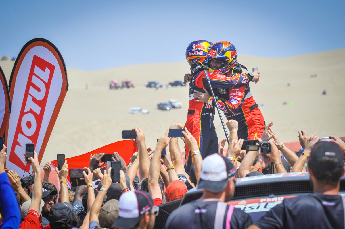 Al Attiyah e Price vincono la Dakar 2019