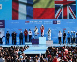 Formula E: D'Ambrosio, Frijns e Bird sul podio di Marrakech