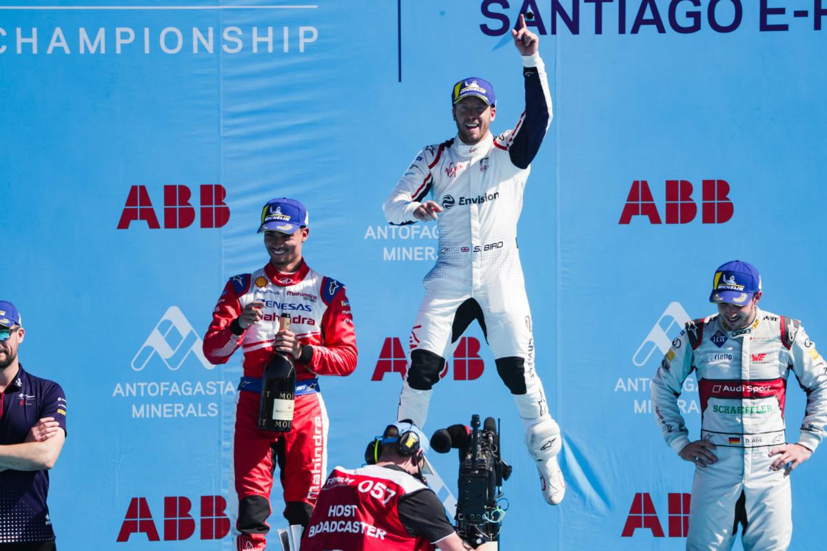 Formula E: Bird vince il Santiago ePrix