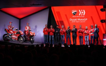 Presentato il team Mission Winnow Ducati 2019