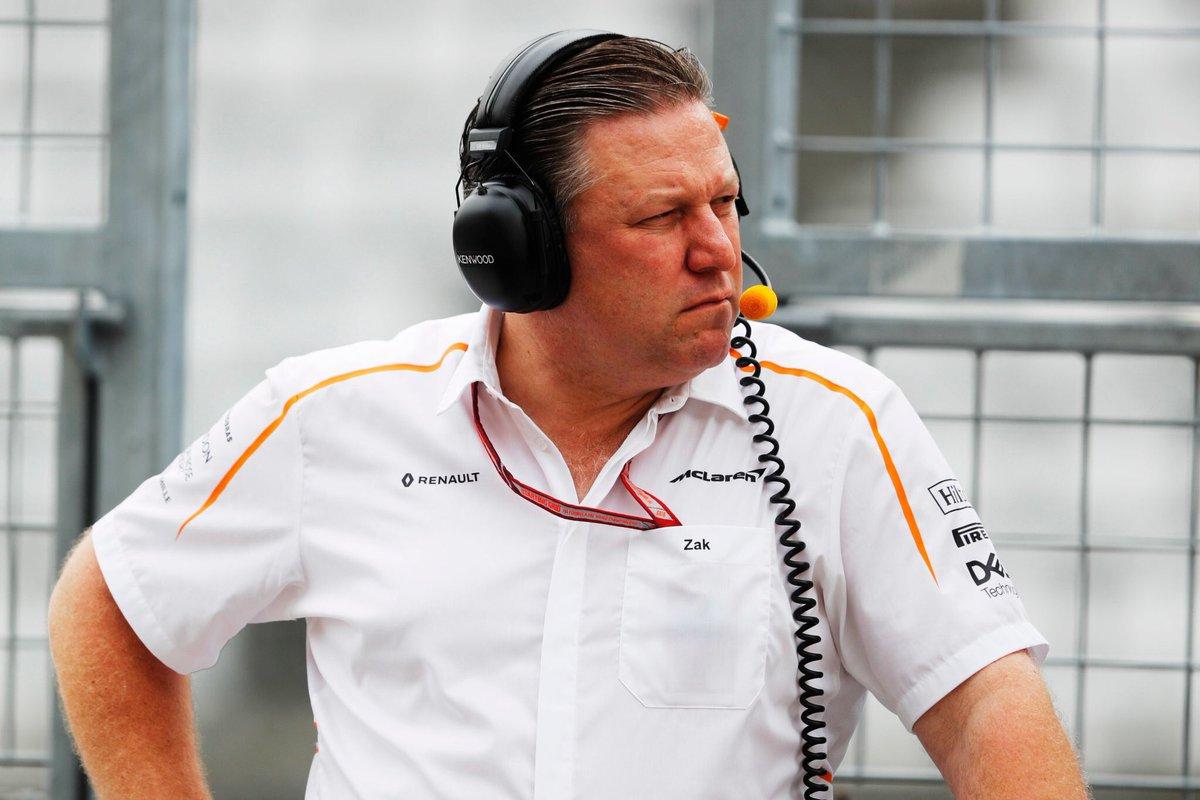 Zak Brown soddisfatto della situazione McLaren