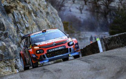 Monte Carlo: la C3 WRC di Ogier raddoppia il vantaggio
