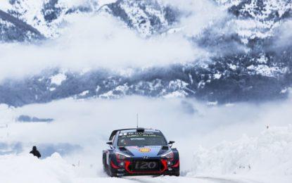 Hyundai al Rally di Monte Carlo
