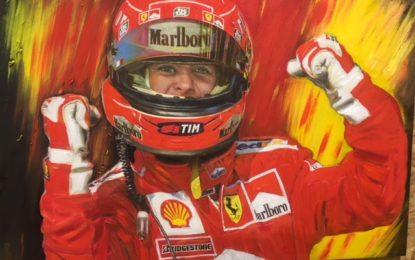 """A Brisighella con Filippo Di Mario """"Schumacher 50"""""""