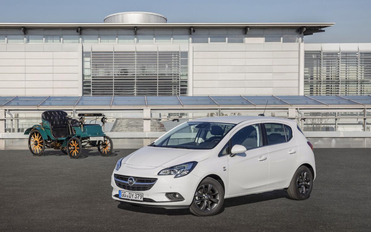 "Opel Corsa ""120th Anniversary"""