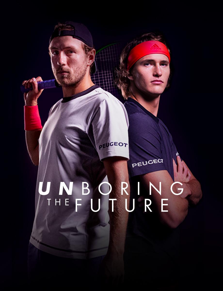 Peugeot dal tennis al futuro elettrificato