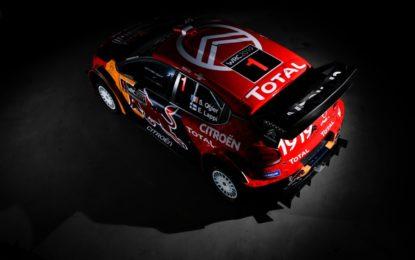 Citroën Total World Rally Team: la nuova C3 WRC