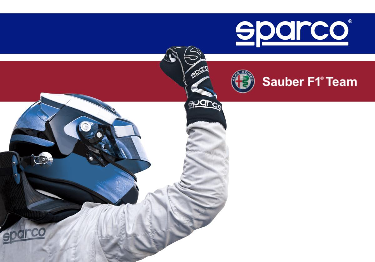 SPARCO Official Partner Alfa Romeo-Sauber Team