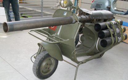 A Novegro moto in divisa e Vespa col cannone