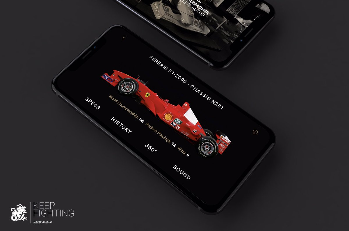 Schumacher The Official App subito in cima alle classifiche